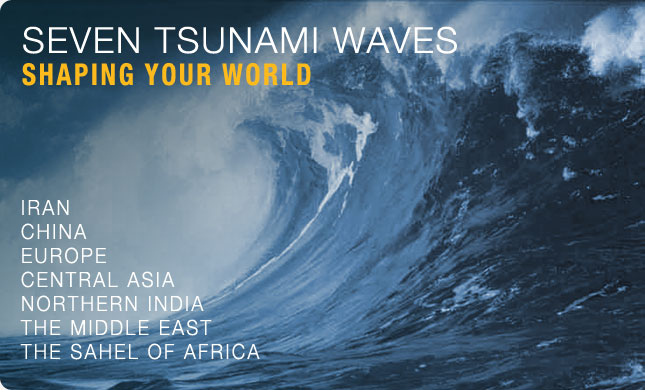 Seven Tsunami Waves